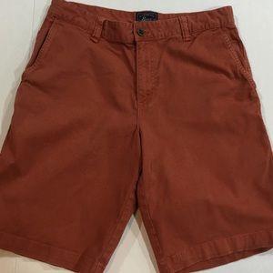G.H. Bass Men's Rust Shorts Straight Size 30